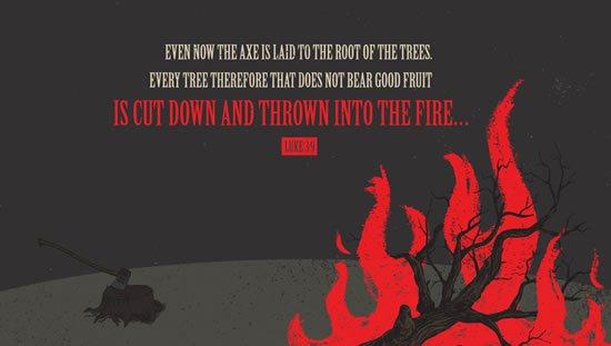 Luke 3. 9