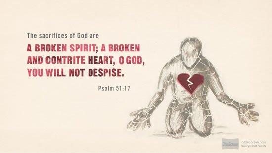Psalm 51. 17
