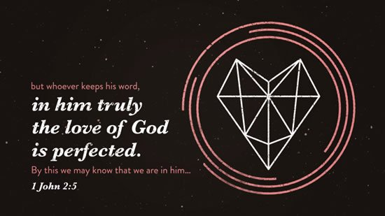 1 John 2. 5