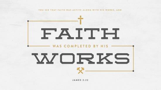 James 2. 22