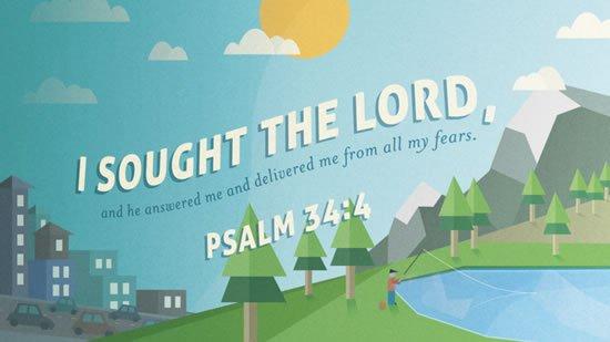 Psalm 34. 4