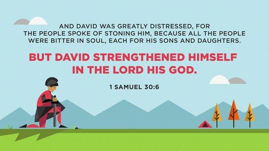 1 Samuel 30. 6