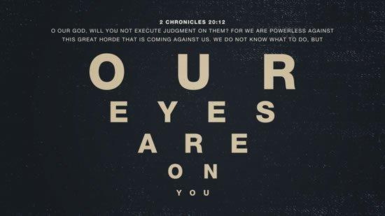 2 Chronicles 20. 12