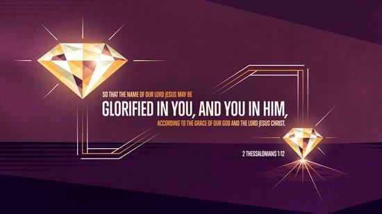 2 Thessalonians 1. 12