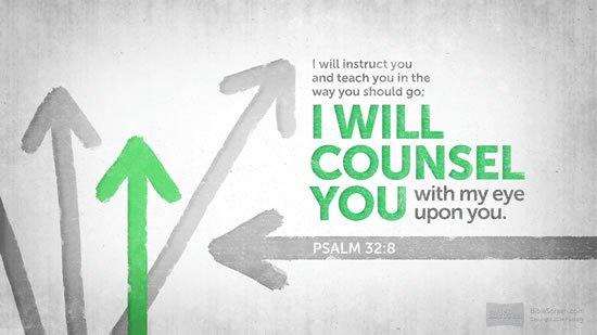 Psalm 32. 8