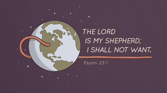 Psalm 23. 1
