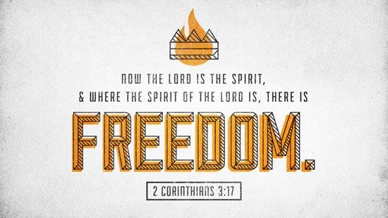 2 Corinthians 3. 17 (2)