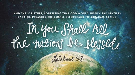 Galatians 3. 8