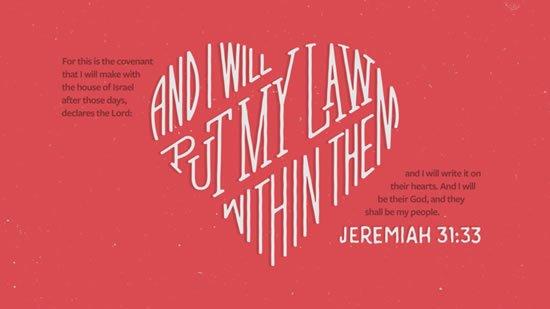 Jeremiah 31. 33