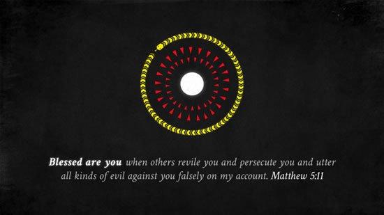 Matthew 5. 11