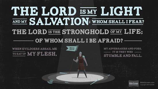 Psalm 27. 1-2