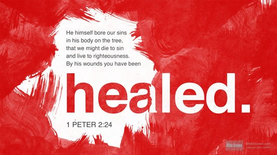 1 Peter 2.24