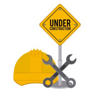 41316348 - under construction design over white background, vector illustration
